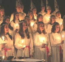 Sankta Lucia - La grande fête de lumières suédoises