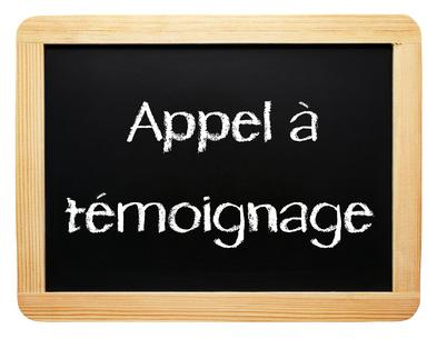 Appel à témoin sur www.paristribune.info © DOC RABE Media