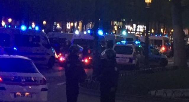 Attentat sur les Champs-Elysées le jeudi 20 avril 2017 © DR