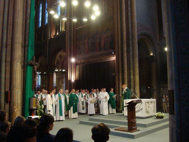 Père Benoist de Sinety, nouveau curé de Saint-Germain-des-Prés