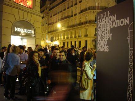 Fashion Celebration Night de 18h à 00h rue Montaigne