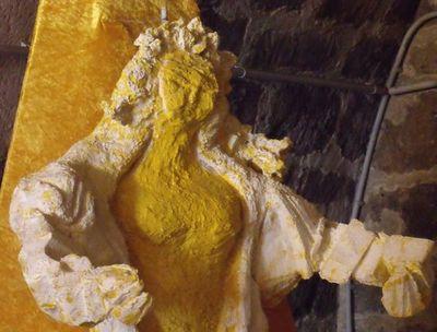 Initiation à l'art contemporain dans la crypte de la Madeleine