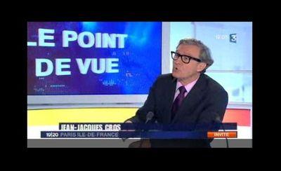 Jean-Paul Huchon se déclare candidat sur France 3