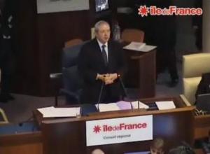 En mars 2010, Jean-Paul Huchon entame son 3e mandat à la tête de la région Ile-de-France © Conseil régional Ile-de-France.