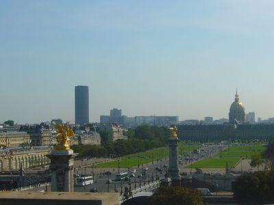 (c) L'esplanade des Invalides vue depuis le Grand Palais - Géraldine Bachmann