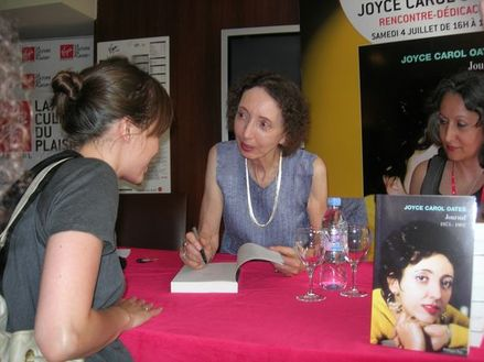Interview d'une fan de Joyce Carol Oates