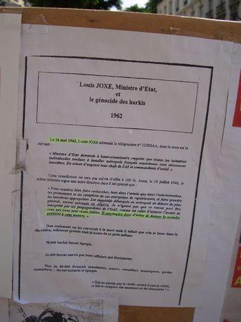 Télégramme n°12SIGAA de Louis Joxe Ministre d'Etat en date du 16 mai 1962