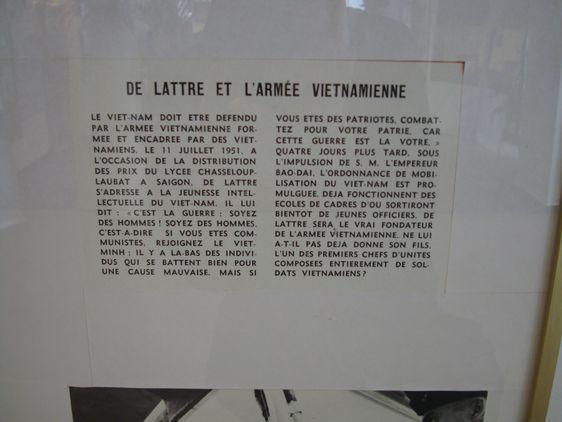 De Lattre et l'armée vietnamienne