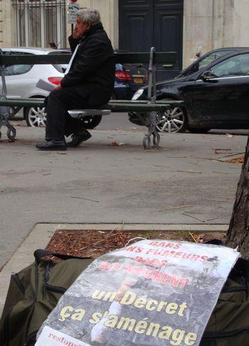 Une grève de la faim débutée le 20 octobre Place du Président E. Herriot