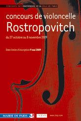 La 9ème édition du concours de violoncelle Rostropovitch aura bien lieu
