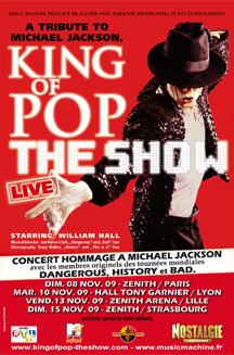 """King of the pop - The Show"" au Zénith"