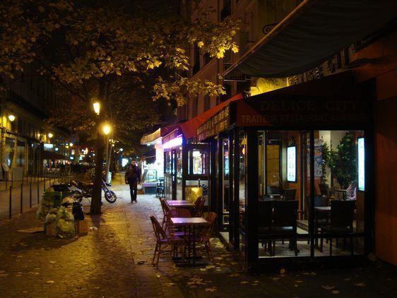 Commerces ouverts toute la nuit rue Saint-Denis