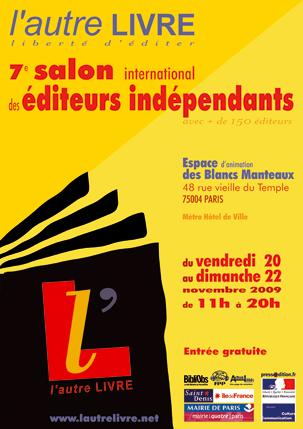Gratuit : 7ème salon des éditeurs indépendants