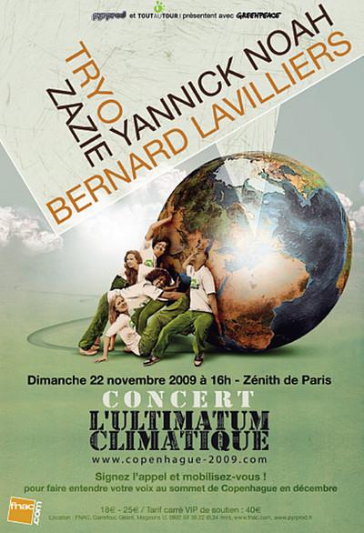 1er Concert climatique au Zénith