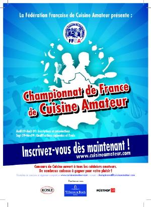 Finale du championnat de France de cuisine amateur