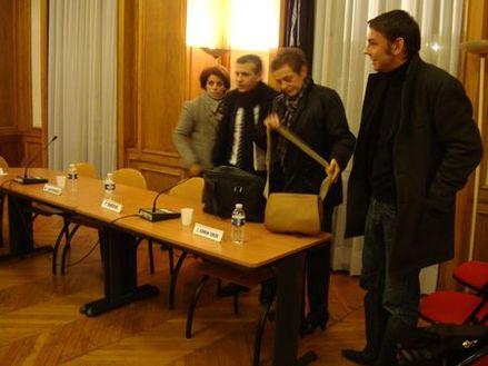 De gauche à droite : Habiba Lhussiez, Pierre Dubreuil et Lyne Cohen-Solal, les trois élus socialistes du 5ème arrondissement