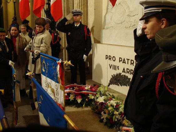 Les porte-drapeaux sont venus nombreux accomplir  le devoir de mémoire