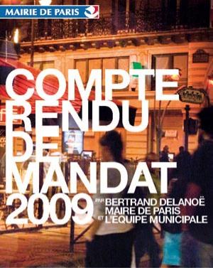 A 18h30 : Compte-rendu de mandat de Bertrand Delanoë dans le 5ème