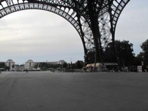 Une image rare. Photo : Julie Hammett / Paris Tribune.