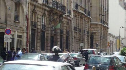 Le consulat de Mauritanie se trouve dans la rue du Cherche-Midi