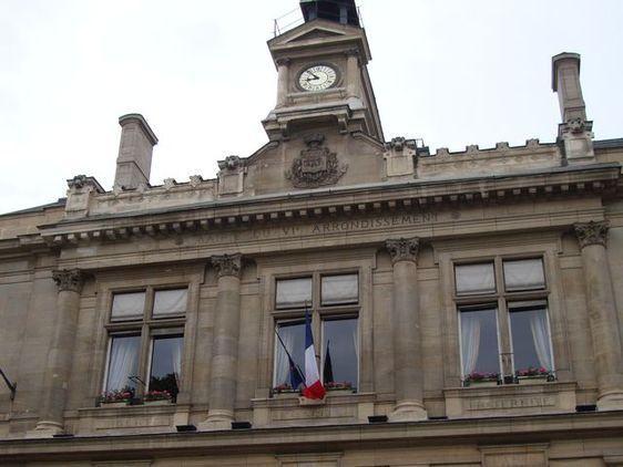 La mairie du 6ème arrondissement de Paris