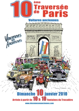10ème traversée de Paris en voitures anciennes