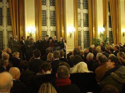 Les élus du 4ème assistent aux voeux du maire