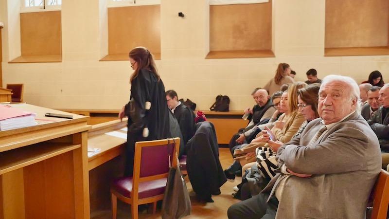 Marcel Campion dans la salle d'audience au tribunal adminstratif © VD / PT