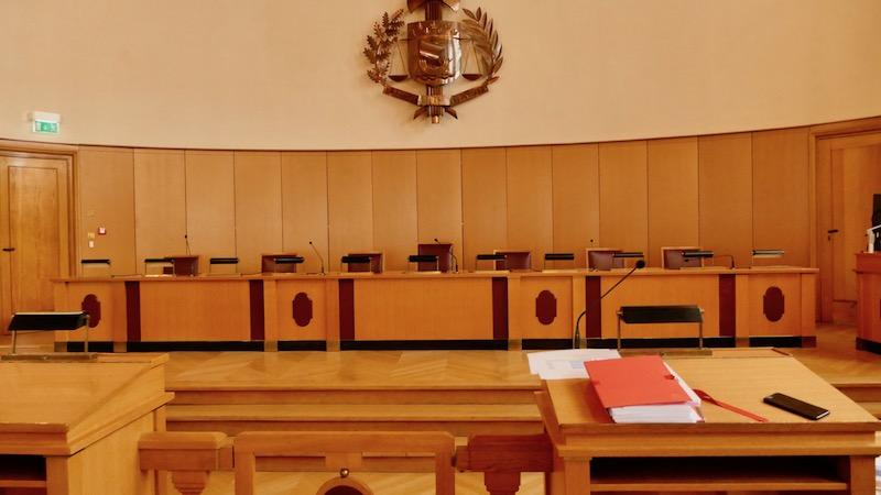 La salle d'audience du Tribunal administratif de Paris © VD / PT