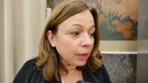 Catherine Baratti-Elbaz, maire du 12e arrondissement le 6 novembre 2017 © VD /PT