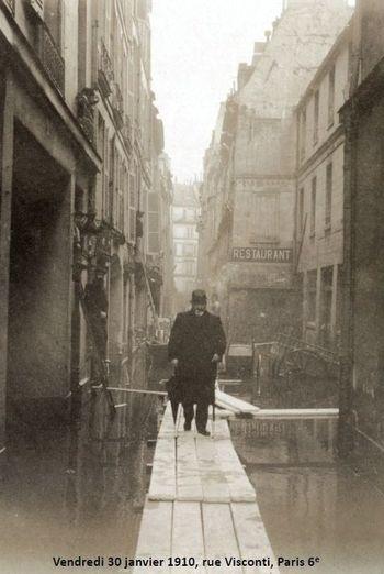28 janvier 2010 : 100e anniversaire d'une crue exceptionnelle de la Seine à Paris