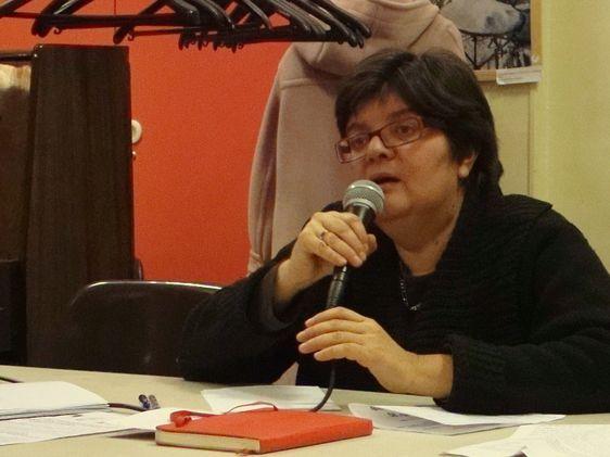 Ana Azaria, présidente de l'organisation Femmes Egalité