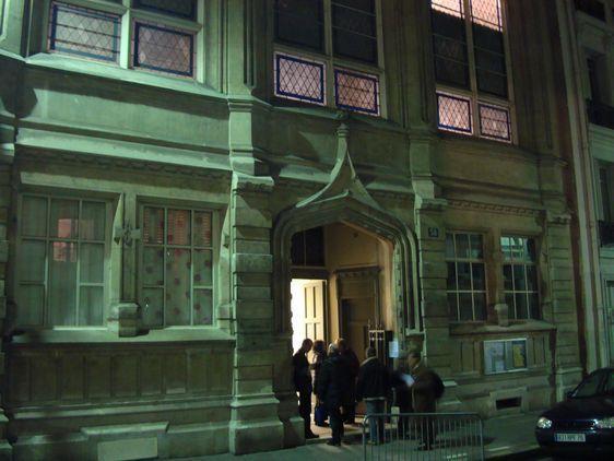La permanence de la Cimade au 58 rue Madâme