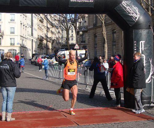 Vincent Rousseau, vainqueur du 10km