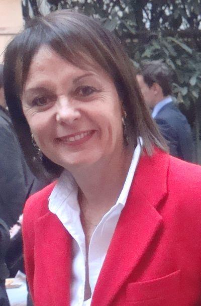 Brigitte Kuster à l'inauguration de sa permanence pour les élections législatives le 3 avril 2012 - Photo : VD.