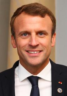 Emmanuel Macron au Tallinn Digital Summit. Dîner de bienvenue offert par SE Donald Tusk - septembre 2017 CC 2.0