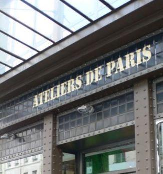 Une boutique éphémère aux Ateliers de Paris