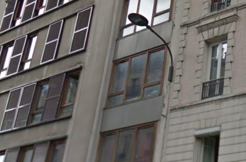 Immeuble Paris Habitat, 176-178 rue de Charenton 75012 Paris avant l'incendie dans la nuit du 24 au 25 décembre 2017 © DR.