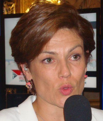 Chantal Jouanno au Sénat le 25 septembre 2011 - Photo : VD.