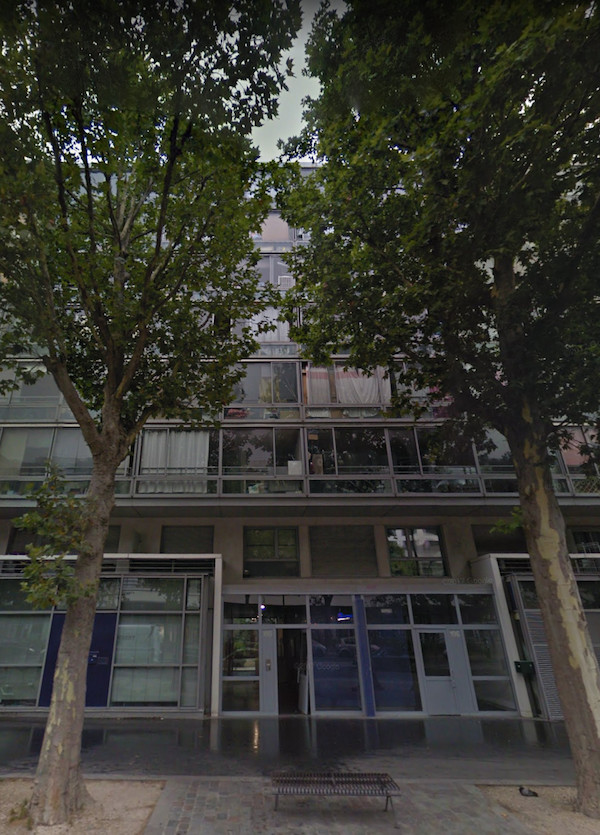 L'immeuble du 196 boulevard Macdonald 75019 Paris © Google Maps / Google Earth.