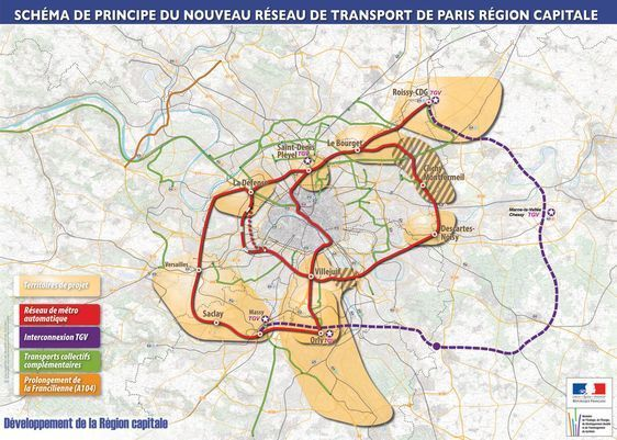 Le projet du Grand Paris dont on ne connaît pas les détails