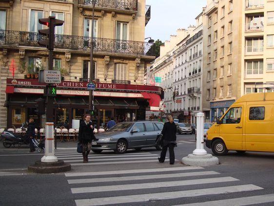Un carrefour accidentogène : celui de Montparnasse - Cherche-Midi