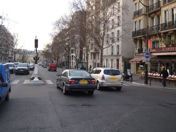 Un musoir devrait être installé au milieu du carrefour Montparnasse - Cherche-Midi