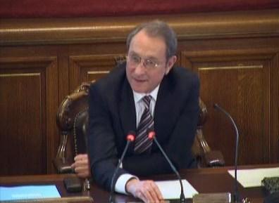 Bertrand Delanoë, maire de Paris depuis 2001