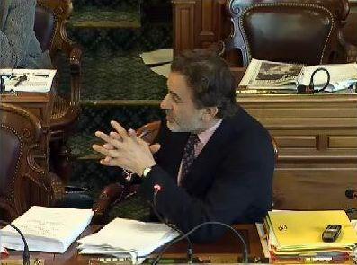 Jean-François Legaret, maire du 1er arrondissement et président de la commission des finances