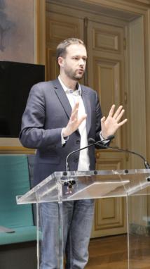 David Belliard, Groupe écologiste de Paris © VD / PT.