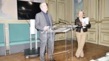 De g. à dr. : Eric Azière et Edith Gallois, Groupe UDI - Modem © VD / PT.