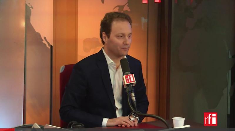 Sylvain Maillard sur RFI le 5 février 2018 sur les SDF © capture d'écran RFI.