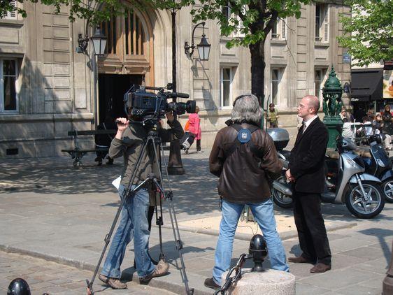 Romain Lévy est interviewé par TF1 sur le problème des voituriers