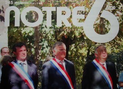 Notre 6ème édition de septembre 2011 (c) Association 6ème Union - Réalisé par la société Cithéa Communication.